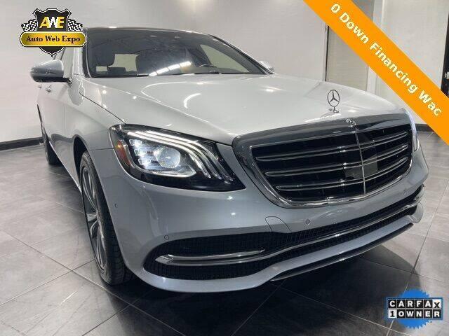 2018 Mercedes-Benz S-Class for sale in Carrollton, TX