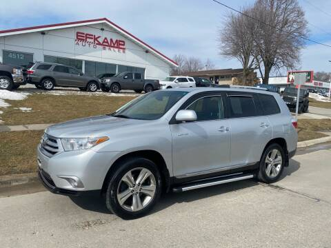2011 Toyota Highlander for sale at Efkamp Auto Sales LLC in Des Moines IA