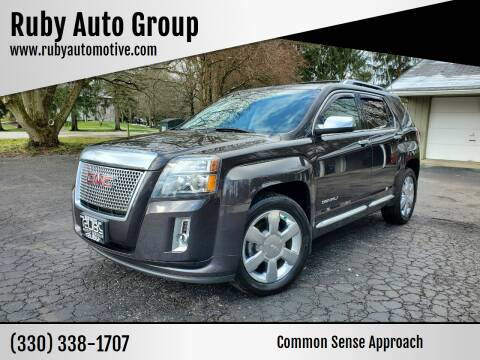 2015 GMC Terrain for sale at Ruby Auto Group in Hudson OH
