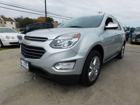 2016 Chevrolet Equinox for sale at AMD AUTO in San Antonio TX
