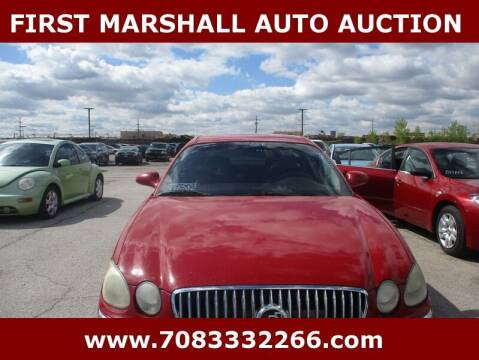 2008 Buick LaCrosse for sale at First Marshall Auto Auction in Harvey IL