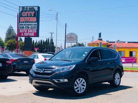 2016 Honda CR-V for sale at City Motors in Hayward CA