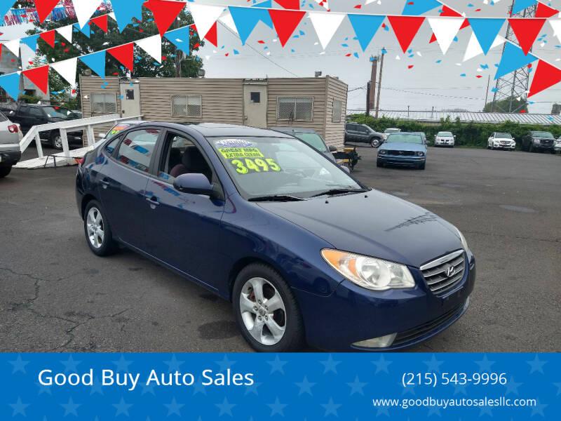 2007 Hyundai Elantra for sale at Good Buy Auto Sales in Philadelphia PA