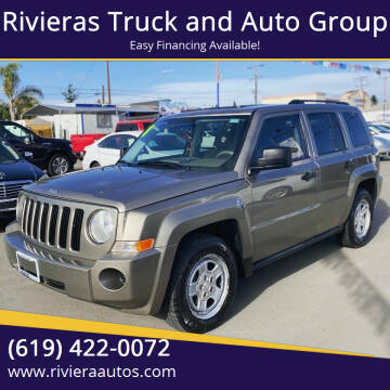 2008 Jeep Patriot for sale at Rivieras Truck and Auto Group in Chula Vista CA