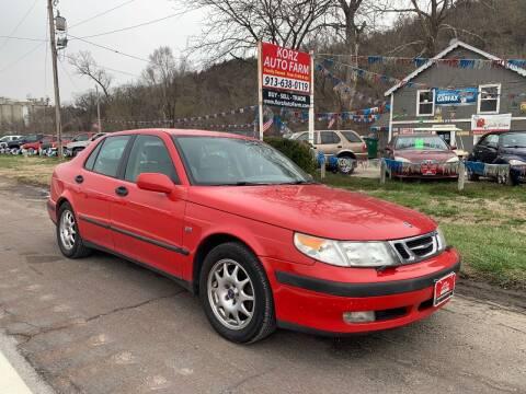 2001 Saab 9-5 for sale at Korz Auto Farm in Kansas City KS