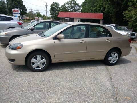 2006 Toyota Corolla for sale at Auto Brokers of Milford in Milford NH