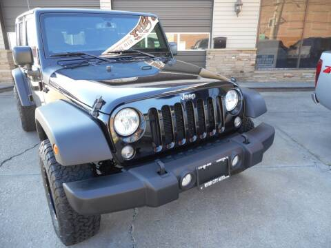 2018 Jeep Wrangler JK Unlimited for sale at River City Auto Center LLC in Chester IL