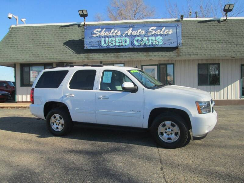 2014 Chevrolet Tahoe for sale at SHULTS AUTO SALES INC. in Crystal Lake IL