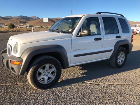 2003 Jeep Liberty for sale at Brand X Inc. in Mound House NV