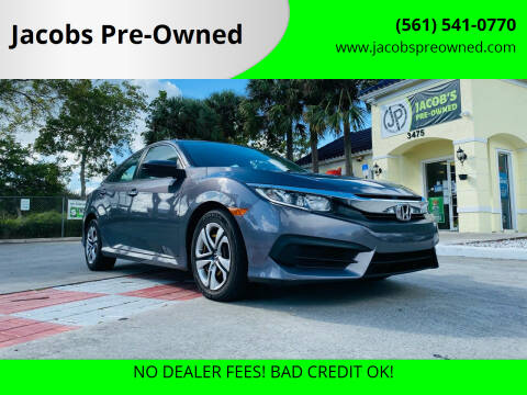 2016 Honda Civic for sale at Jacobs Pre-Owned in Lake Worth FL