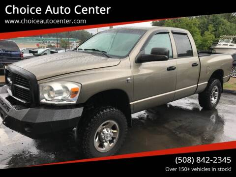 2007 Dodge Ram Pickup 2500 for sale at Choice Auto Center in Shrewsbury MA
