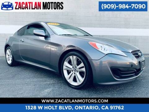 2012 Hyundai Genesis Coupe for sale at Ontario Auto Square in Ontario CA