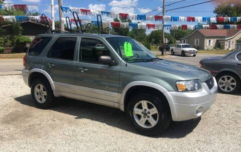 2006 Ford Escape Hybrid for sale at Antique Motors in Plymouth IN