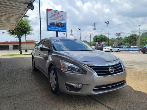 2014 Nissan Altima for sale at Magic Auto Sales in Dallas TX