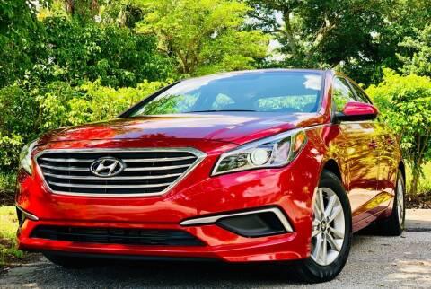 2017 Hyundai Sonata for sale at Sunshine Auto Sales in Oakland Park FL