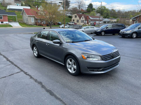 2012 Volkswagen Passat for sale at KP'S Cars in Staunton VA
