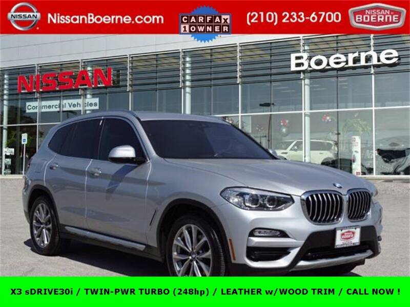 2019 BMW X3 for sale at Nissan of Boerne in Boerne TX