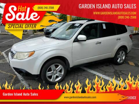 2010 Subaru Forester for sale at Garden Island Auto Sales in Lihue HI
