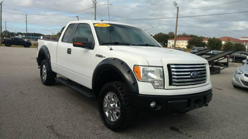 2012 Ford F-150 for sale at Kelly & Kelly Supermarket of Cars in Fayetteville NC