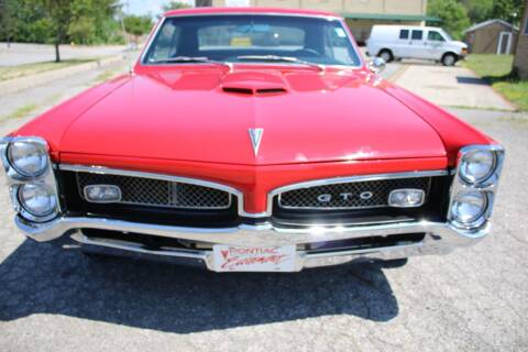 1967 Pontiac GTO for sale at Great Lakes Classic Cars & Detail Shop in Hilton NY