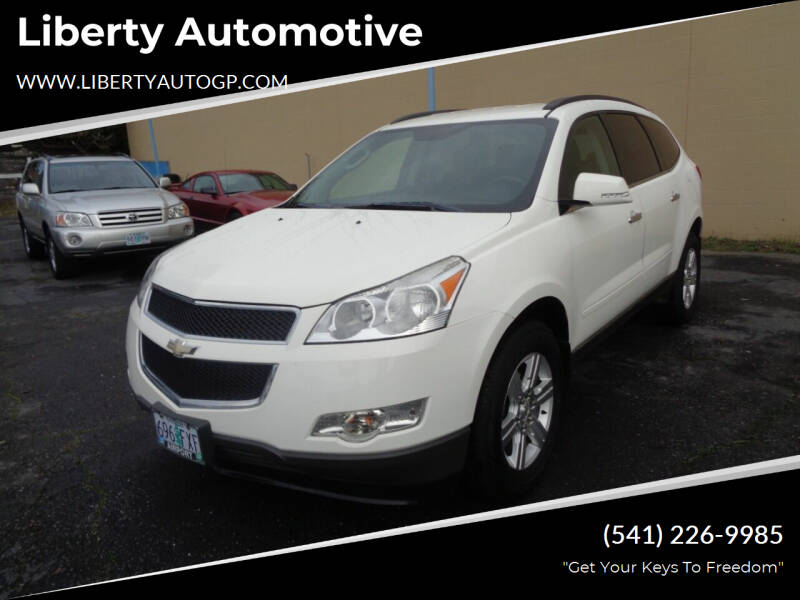 2012 Chevrolet Traverse for sale at Liberty Automotive in Grants Pass OR