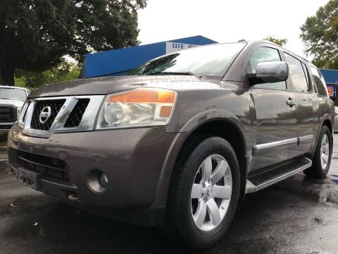 2013 Nissan Armada for sale at Capital Motors in Raleigh NC