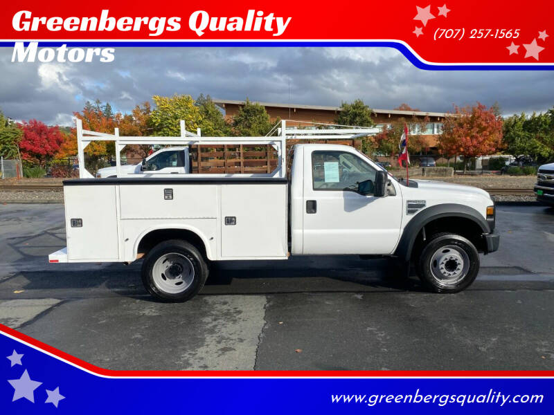 2009 Ford F-450 Super Duty for sale at Greenbergs Quality Motors in Napa CA