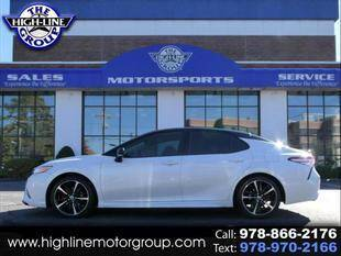2020 Toyota Camry for sale at Highline Group Motorsports in Lowell MA