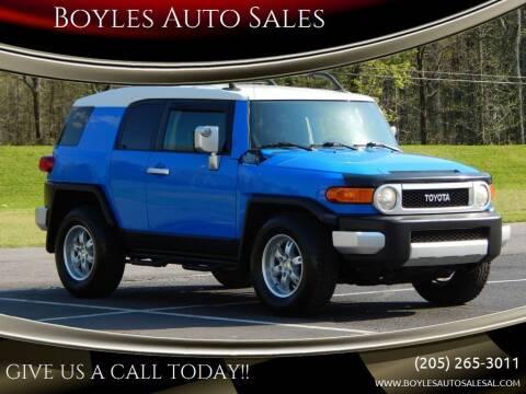 2007 Toyota FJ Cruiser for sale at Boyles Auto Sales in Jasper AL
