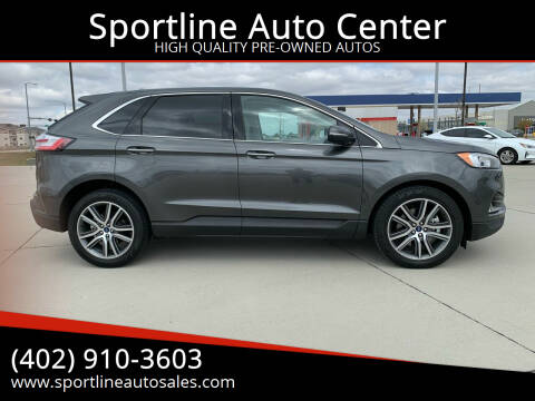 2020 Ford Edge for sale at Sportline Auto Center in Columbus NE