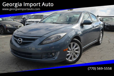 2012 Mazda MAZDA6 for sale at Georgia Import Auto in Alpharetta GA