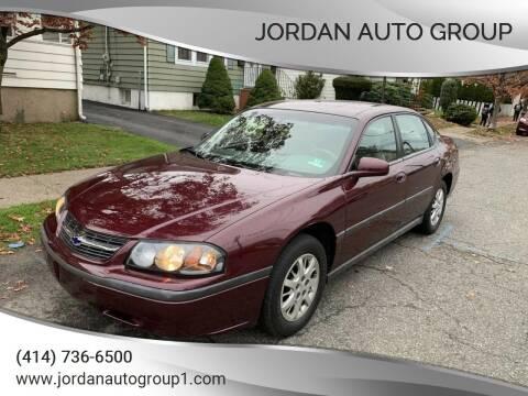 2003 Chevrolet Impala for sale at Jordan Auto Group in Paterson NJ