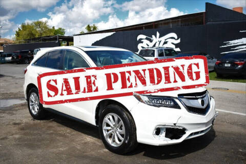 2016 Acura RDX for sale at ELITE MOTOR CARS OF MIAMI in Miami FL