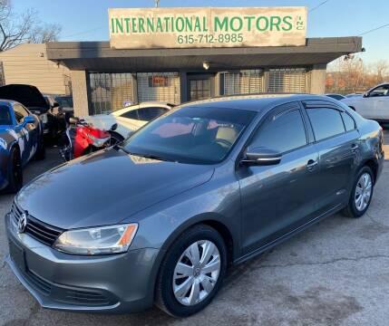 2012 Volkswagen Jetta for sale at International Motors Inc. in Nashville TN