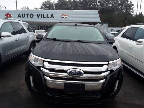 2014 Ford Edge for sale at Auto Villa in Danville VA