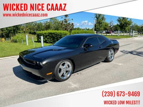 2009 Dodge Challenger for sale at WICKED NICE CAAAZ in Cape Coral FL