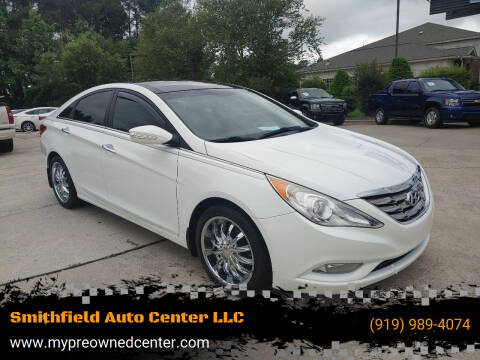 2012 Hyundai Sonata for sale at Smithfield Auto Center LLC in Smithfield NC