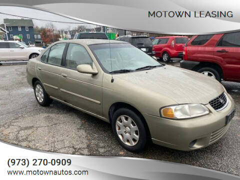 2001 Nissan Sentra for sale at Motown Leasing in Morristown NJ