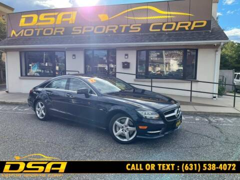 2012 Mercedes-Benz CLS for sale at DSA Motor Sports Corp in Commack NY