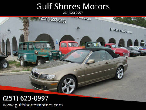 2005 BMW 3 Series for sale at Gulf Shores Motors in Gulf Shores AL