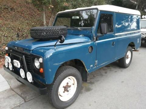 1981 Land Rover Defender for sale at Classic Car Deals in Cadillac MI