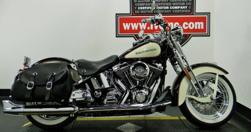 2002 Harley-Davidson FLSTS for sale at Certified Motor Company in Las Vegas NV