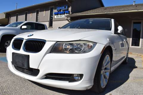 2010 BMW 3 Series for sale at IMD Motors in Richardson TX