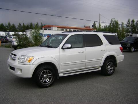 2007 Toyota Sequoia for sale at NORTHWEST AUTO SALES LLC in Anchorage AK