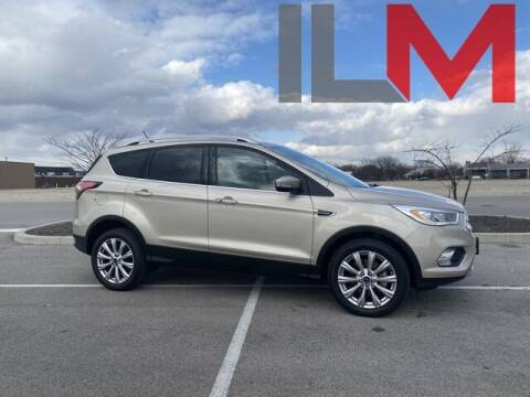 2018 Ford Escape for sale at INDY LUXURY MOTORSPORTS in Fishers IN