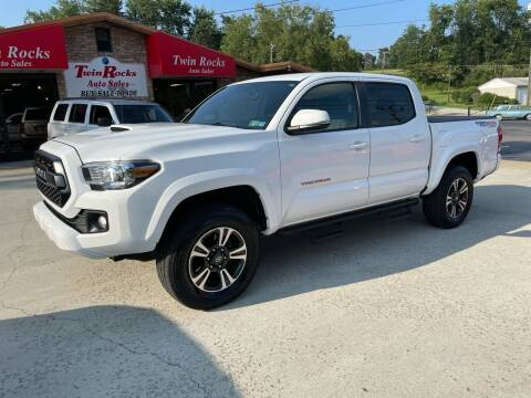 2017 Toyota Tacoma for sale at Twin Rocks Auto Sales LLC in Uniontown PA