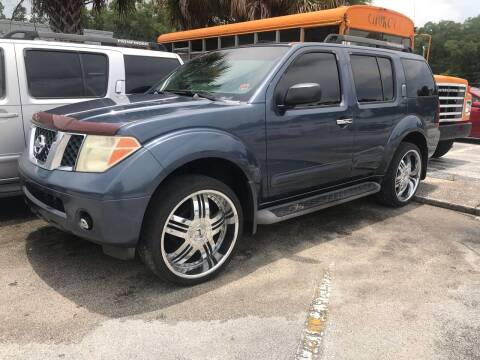 2006 Nissan Pathfinder for sale at Popular Imports Auto Sales in Gainesville FL