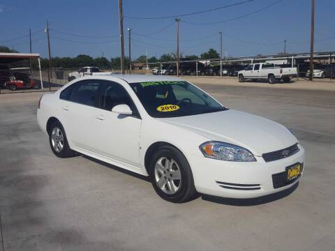 2010 Chevrolet Impala for sale at Bostick's Auto & Truck Sales in Brownwood TX