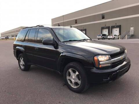 2007 Chevrolet TrailBlazer for sale at Angies Auto Sales LLC in Newport MN