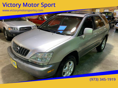 2002 Lexus RX 300 for sale at Victory Motor Sport in Paterson NJ